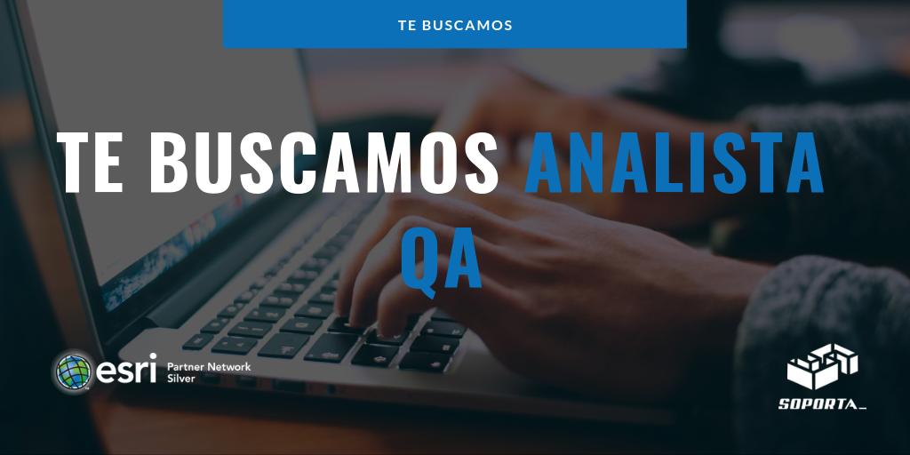 Buscamos analista QA