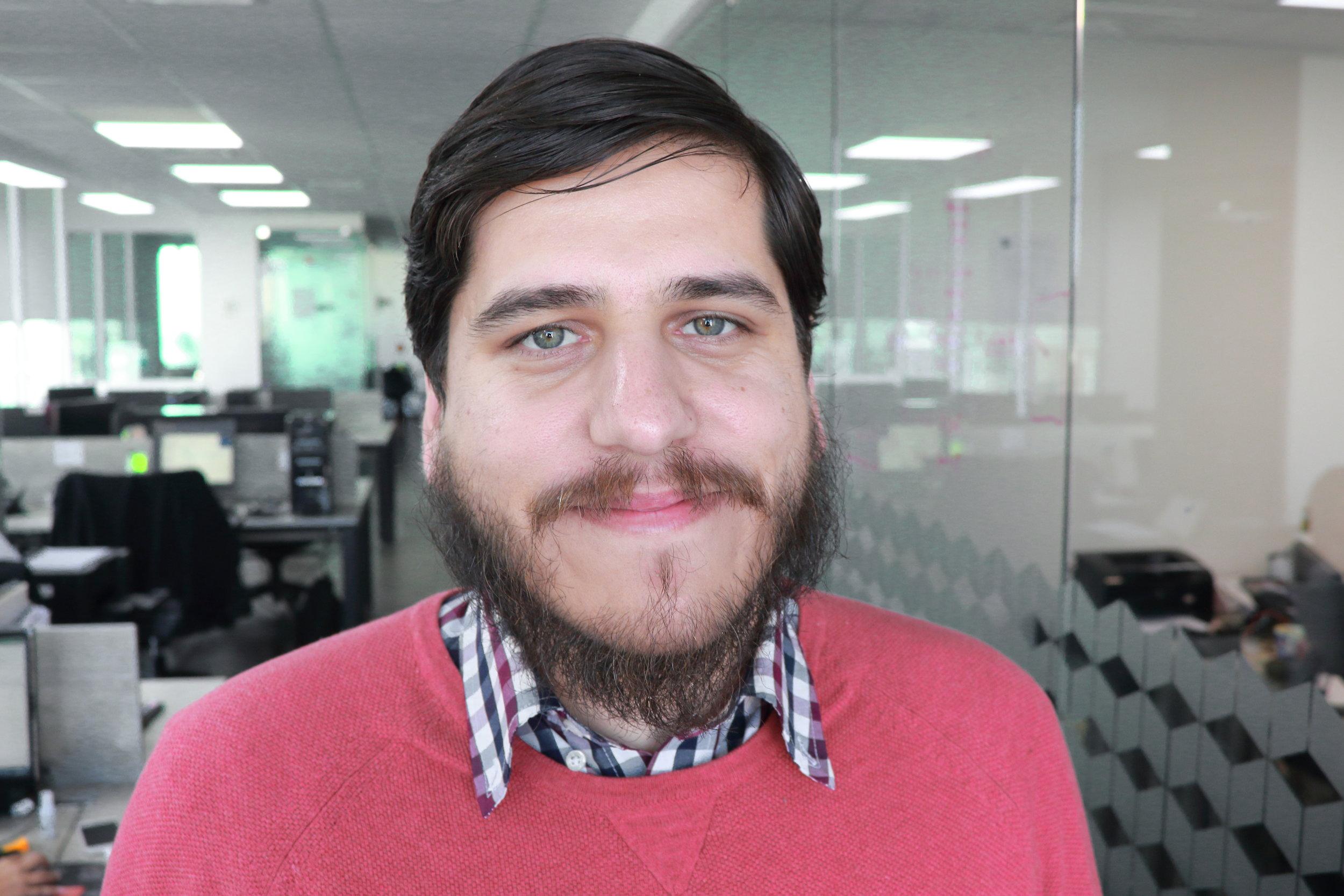 Leandro Zamudio, Jefe del Área GIS de Soporta