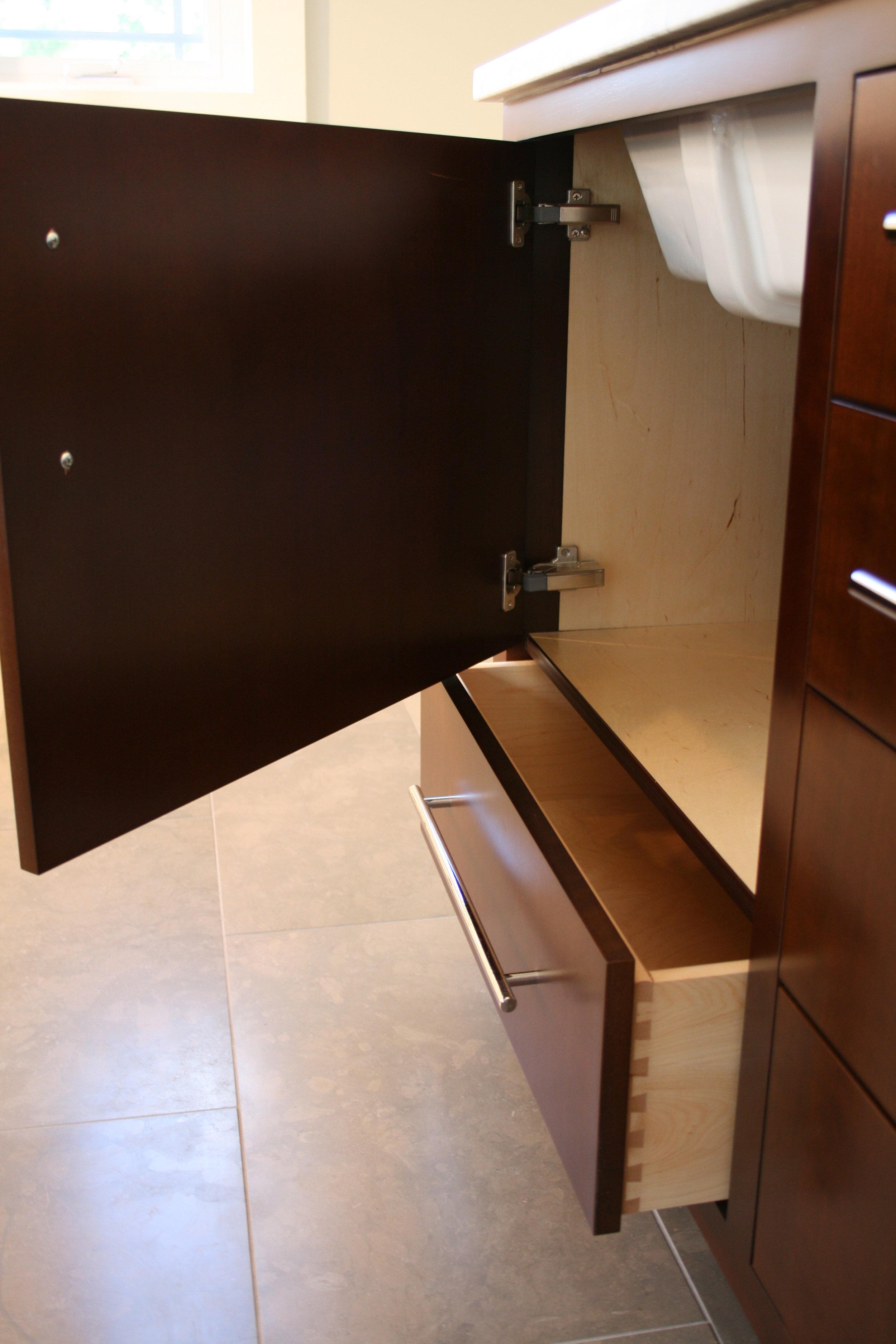 Contemporary Bathroom in Dark Cherry 8.jpg