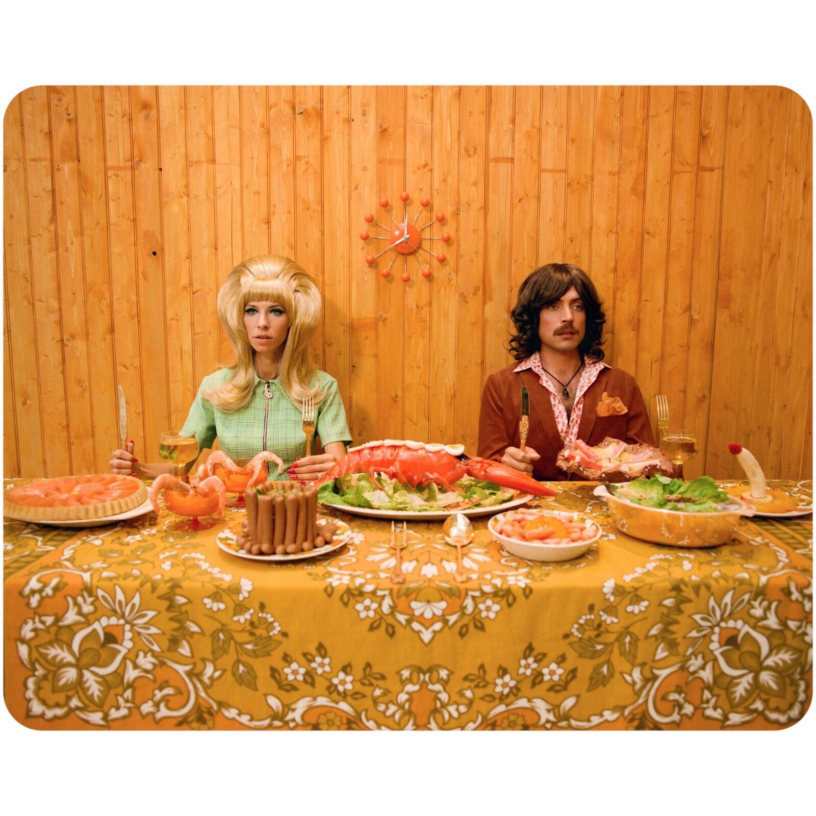 """Denelle + Tom Ellis, """"Dinner"""" 2017"""