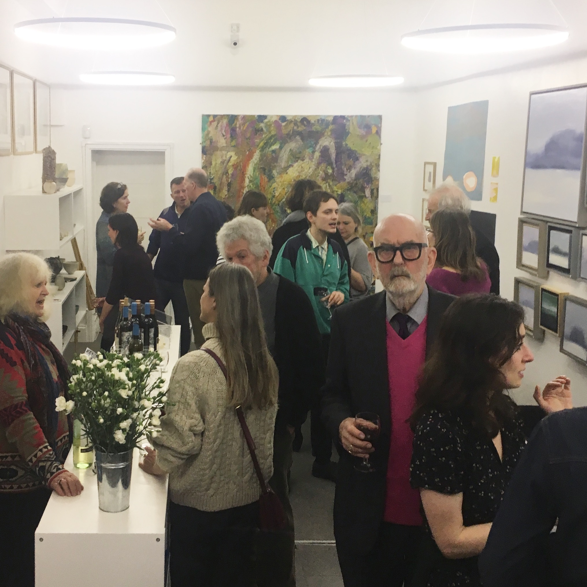 Allan Manham & Colors of The Land Private View, 06/02/19