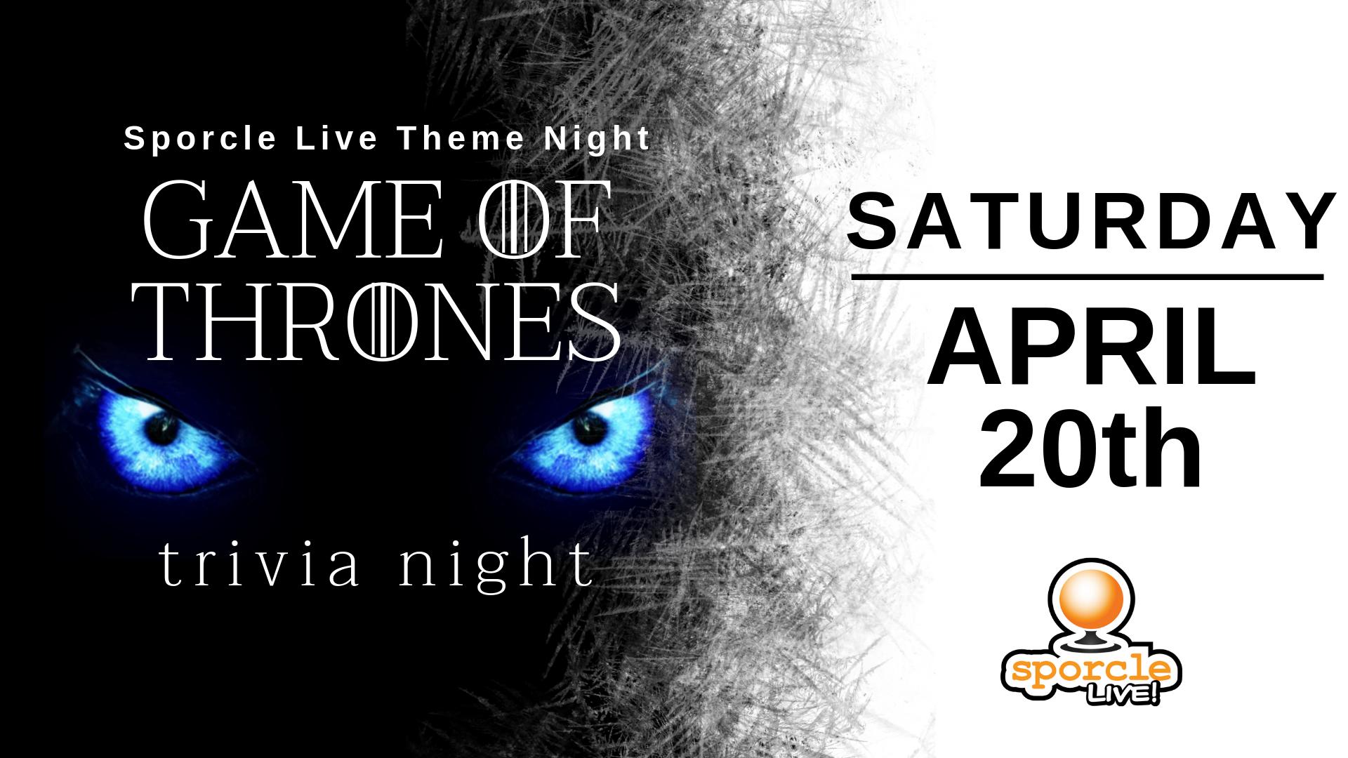 Game of Thrones Trivia - Minneapolis