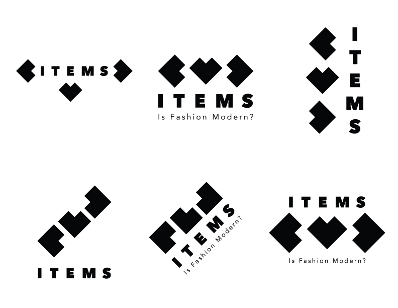 Drafts of Logo for Items