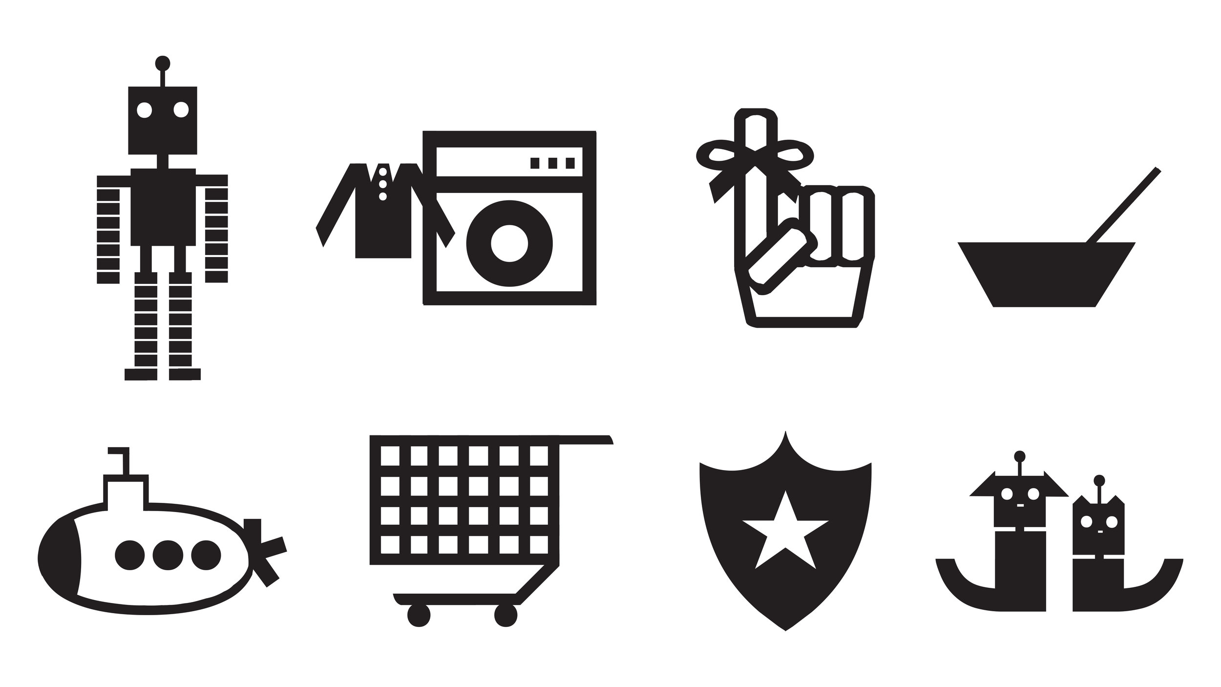 Initial Draft of Icon Set