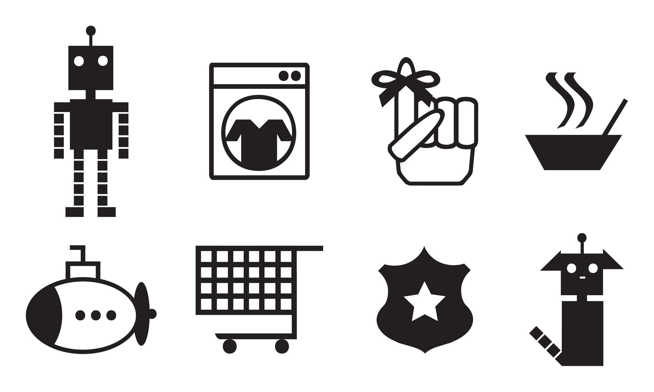 Revised Icon Set