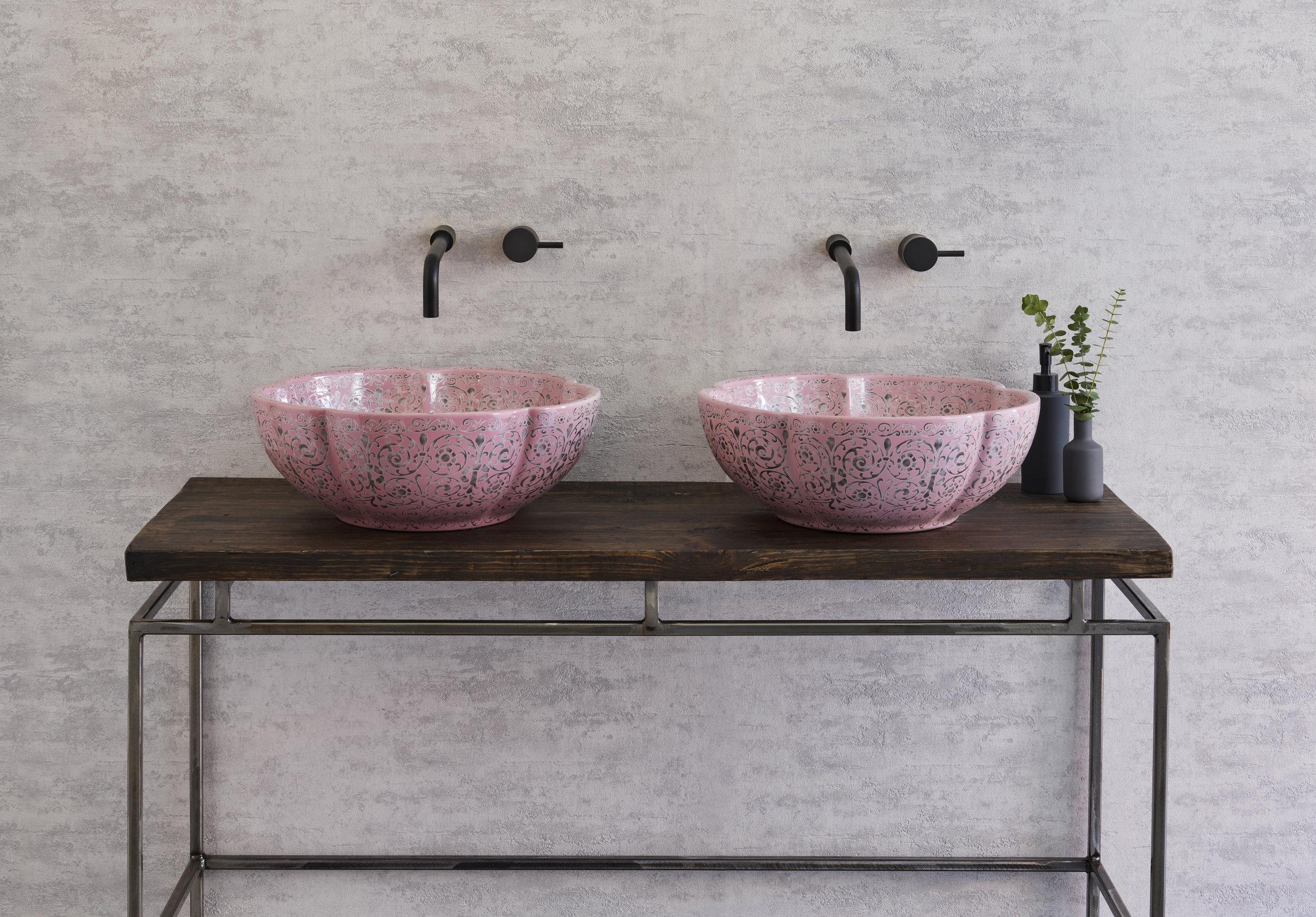 Basin Sink Countertop Vanity Unit