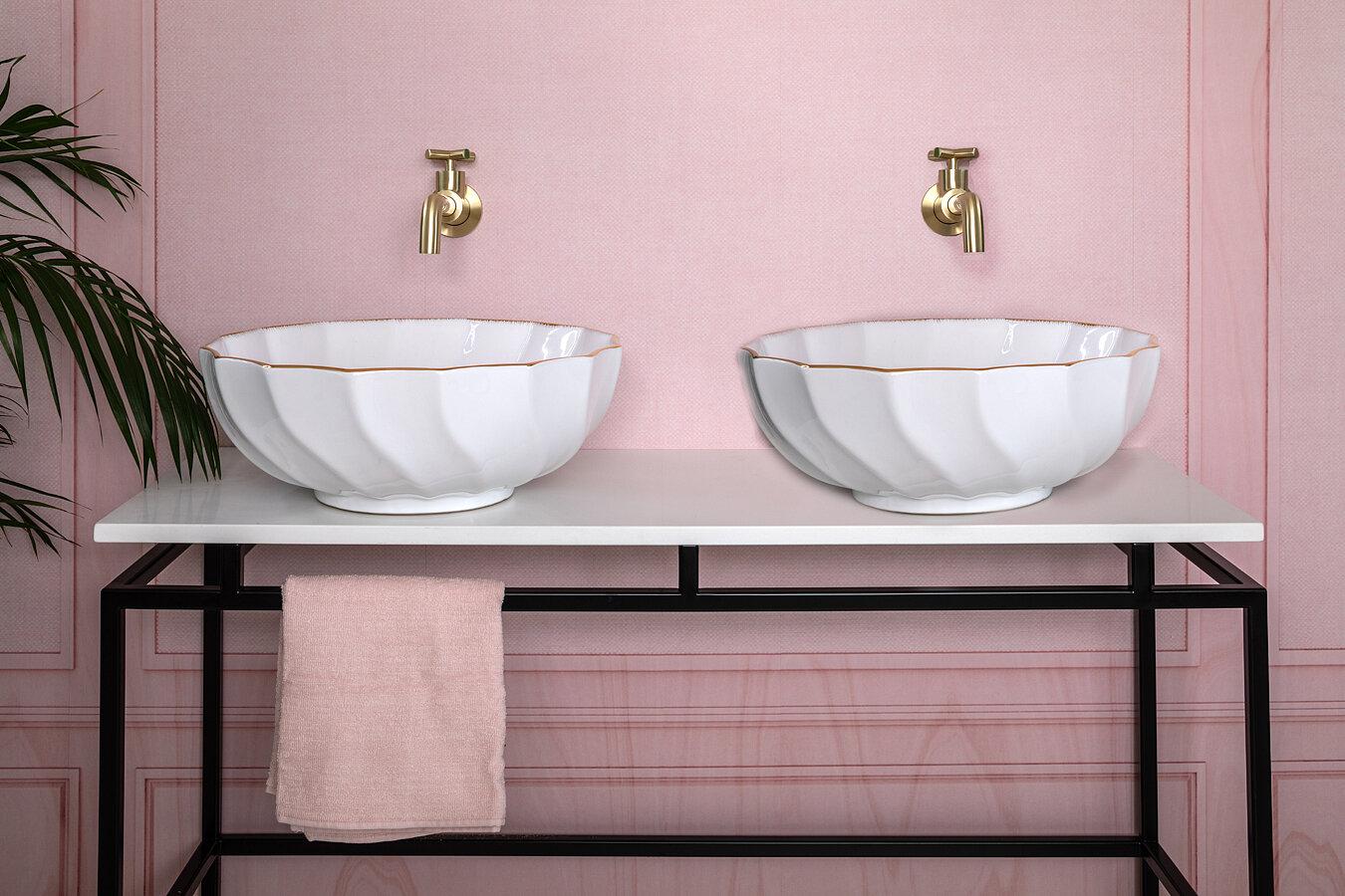 London Basin Company Basin Sink Countertop Vanity Unit Accessories