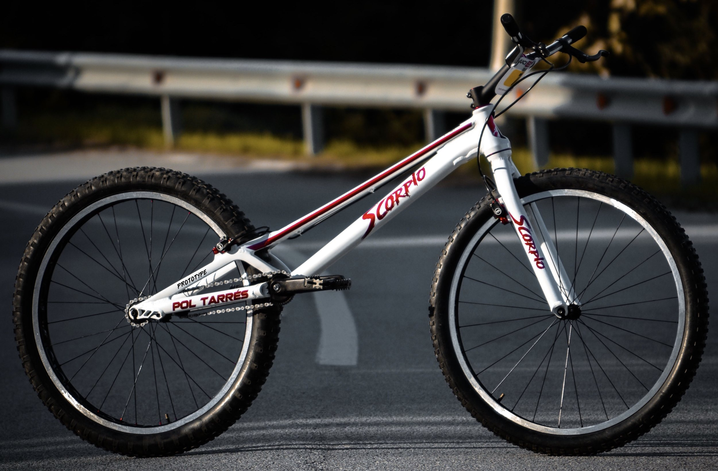 Pol Tarrés' Scorpio special edition for the 2018 UCI Trials World Championships in Chengdú, China