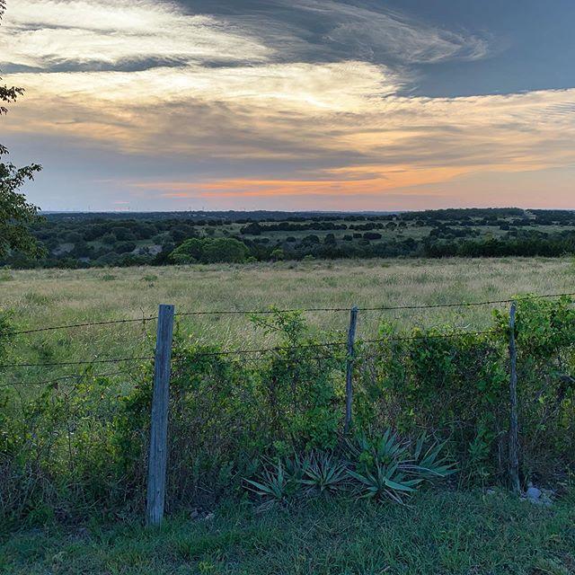 Texas ❤️ #texas #ranch #sunset