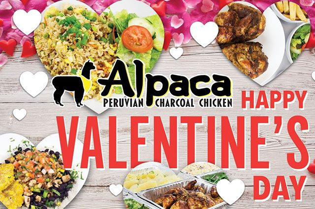 💘If you haven't found true love yet, find it today at Alpaca Chicken. Happy Valentine's Day!  #bemine #valentinesday #alpacachicken