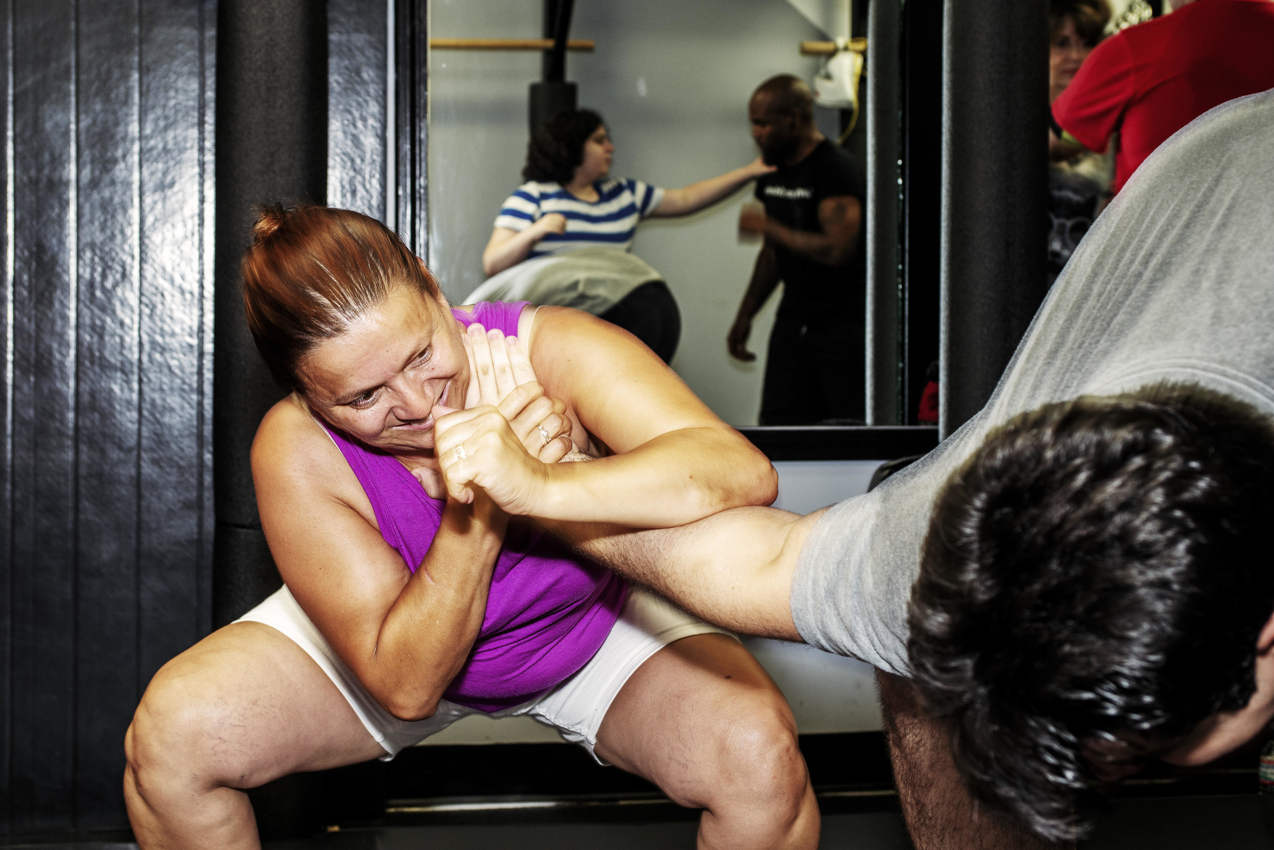 Fight 4 Fitness Self Defense class for women