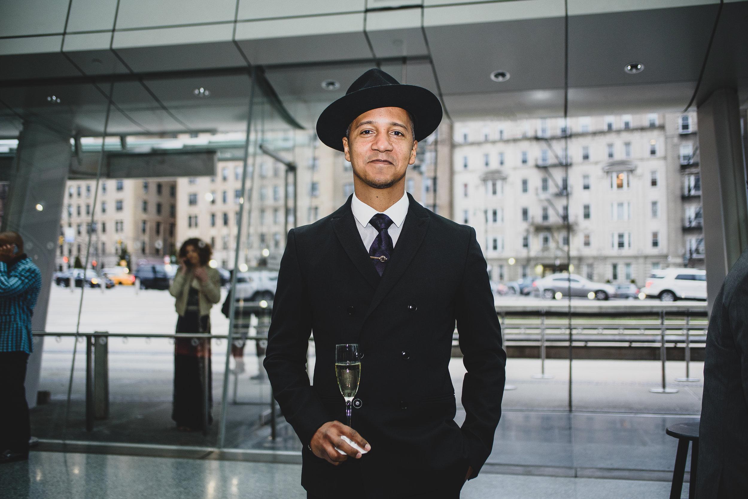 The Brooklyn Artists Ball at Brooklyn Museum 2017. Juan Coronado (9177749810) Bacardi Rum Ambassador