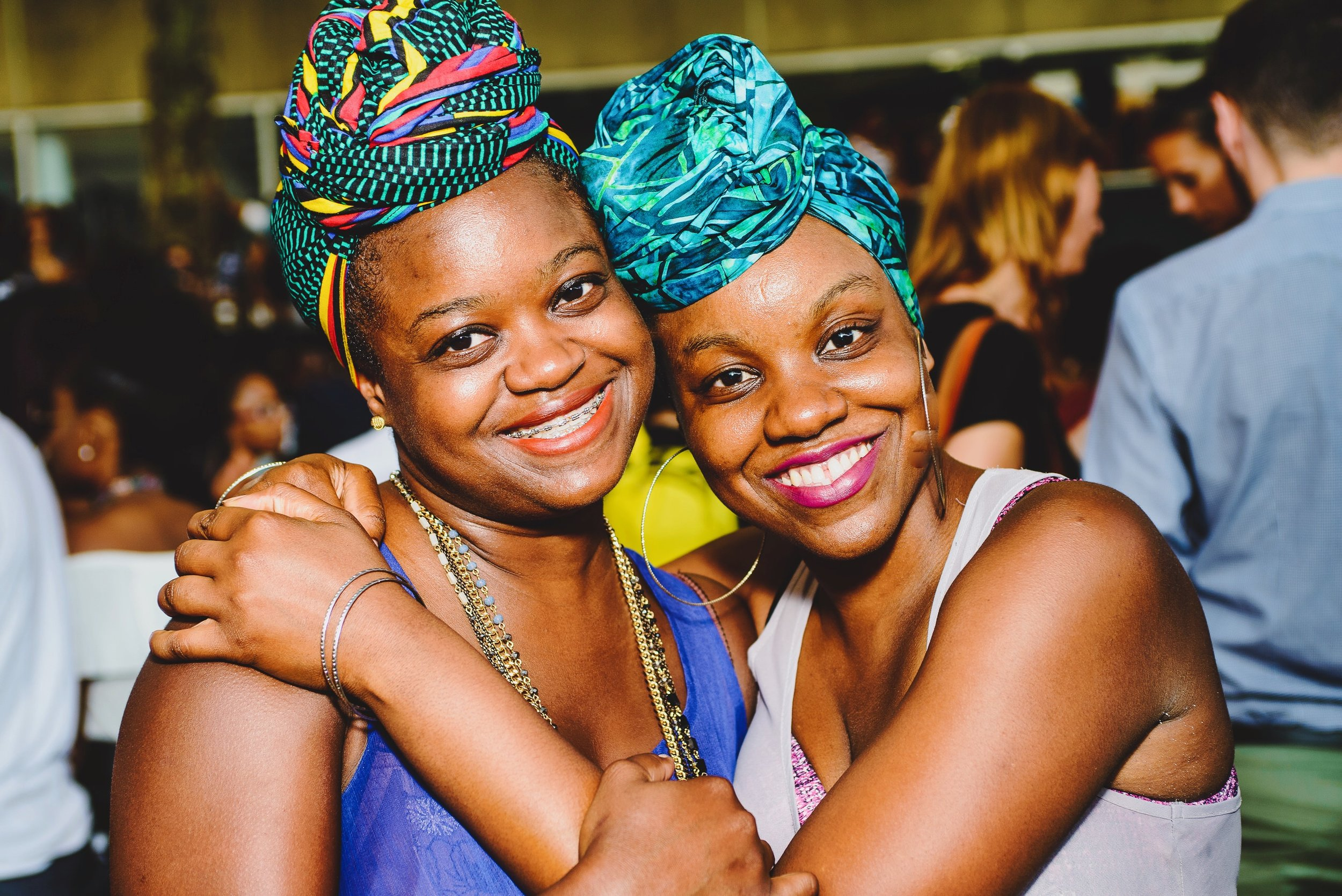 Sisters Asher and Sidon Osbourne (7185064544) at Brooklyn Musuem's CaribBEING Target First Saturday