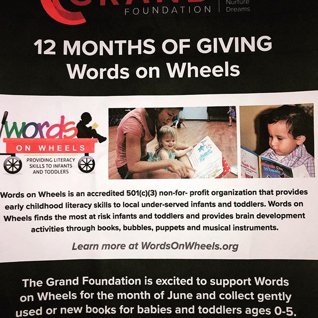 Please join us with our book drive for WOW!