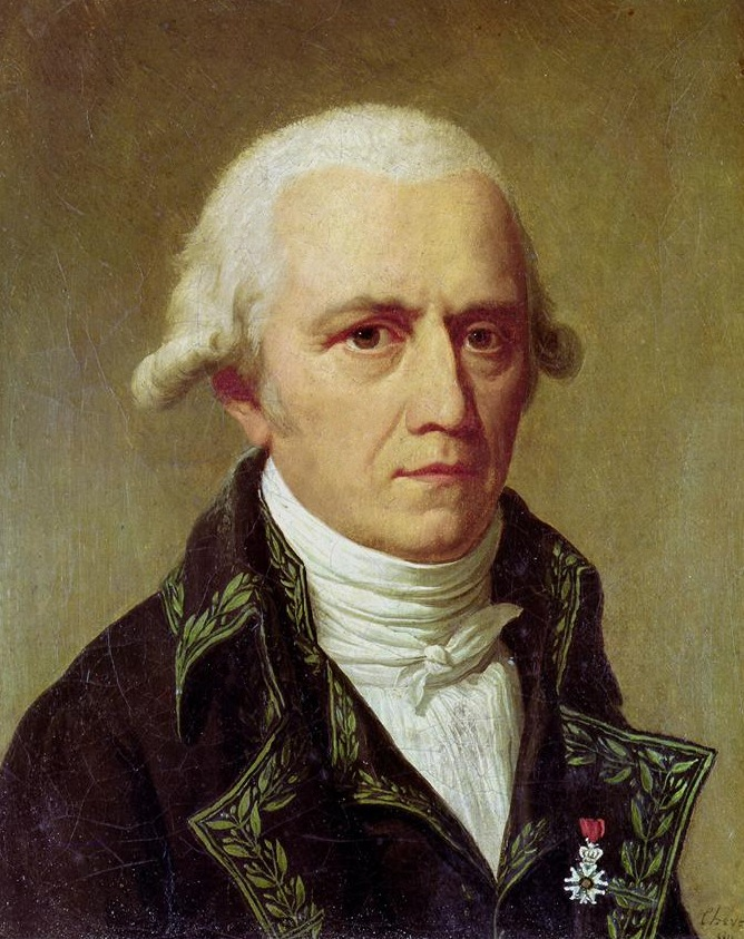 Jean-Baptiste de Monet Chevalier de Lamarck in either 1802 or 1803, painted by  Charles      Thévenin. From  https://en.wikipedia.org/wiki/Jean-Baptiste_Lamarck  .