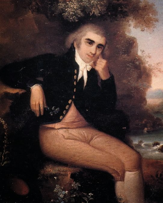 "Giambattista Brocchi. Although the artist is unknown, we suspect this was painted during their "" Eyebrow Period "". From  https://en.wikipedia.org/wiki/Giovanni_Battista_Brocchi  ."