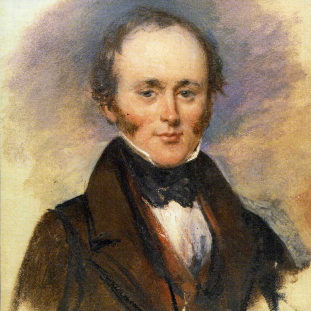 A painting of Charles Lyell by Alexander Craig. More mutton chops … From Public Domain, https://en.wikipedia.org/w/index.php?curid=27631782 .