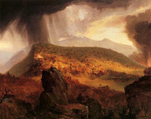 "Thomas Cole's "" Catskill Mountain House "", 1843-1844."