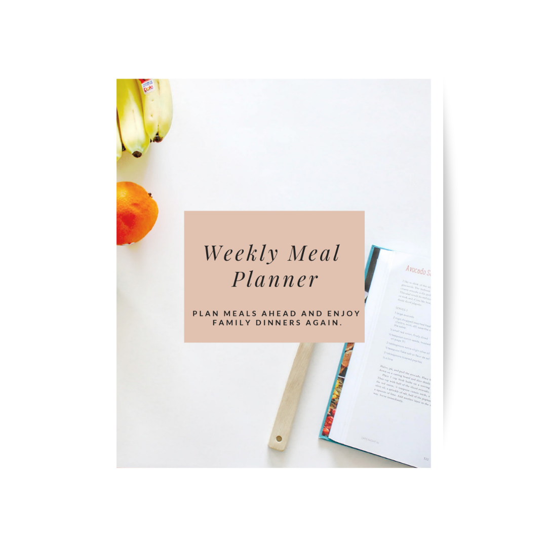 Weekly Meal Planner - Printable