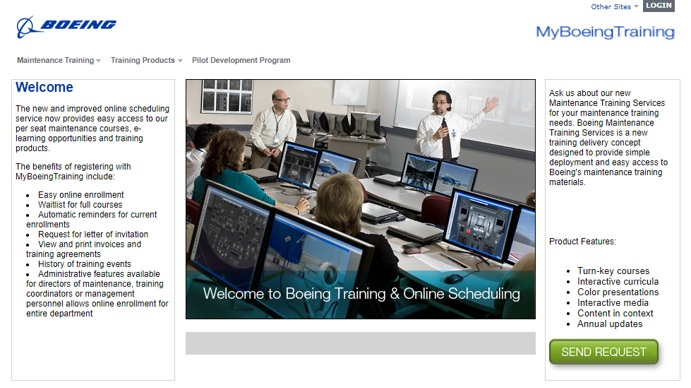 Streamlining value-added services - Launch provided a team to develop, deliver and support a custom website for Boeing to sell, schedule and manage maintenance, pilot development courses and associated material.