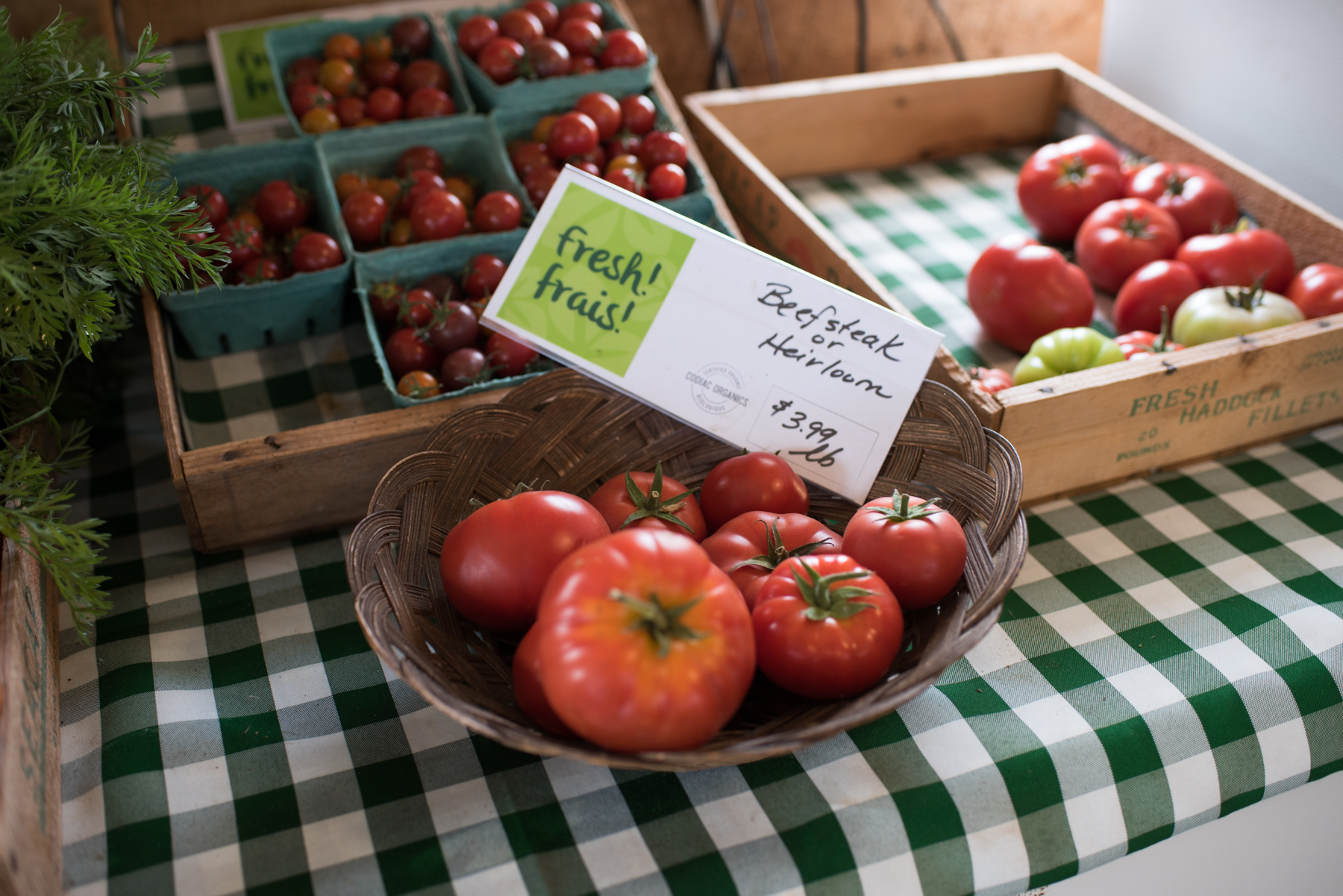 Codiac Organics - Récolte de Chez Nous - Really Local Harvest