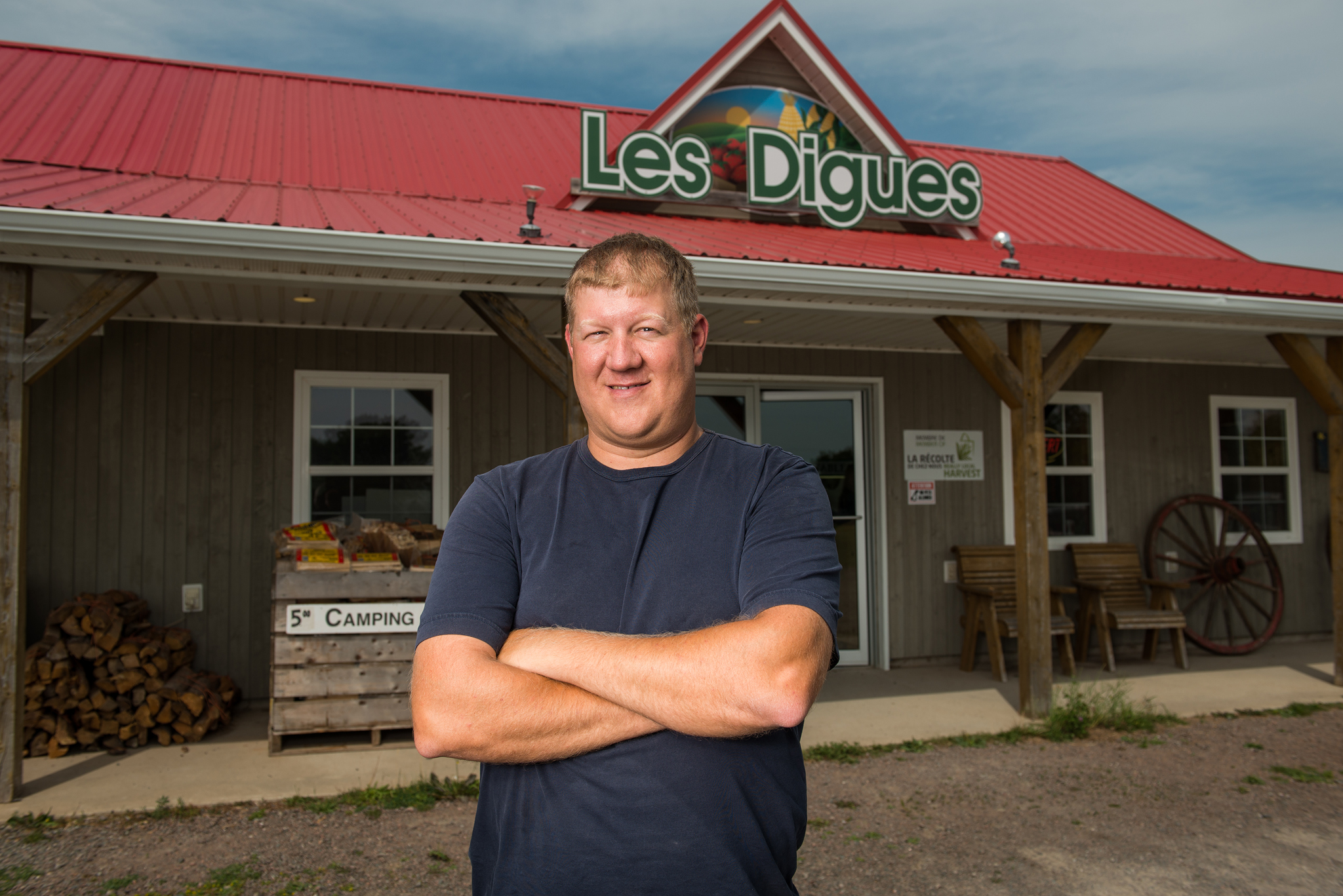 Les Digues - Récolte de Chez Nous - Really Local Harvest
