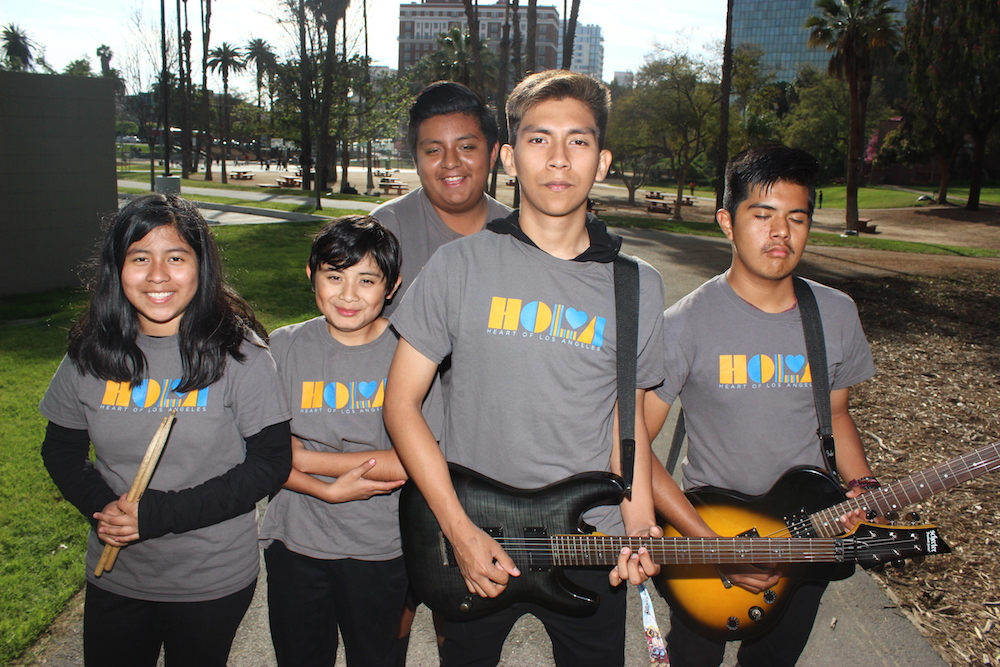 HOLA - Heart of los angeles rock band - Rock