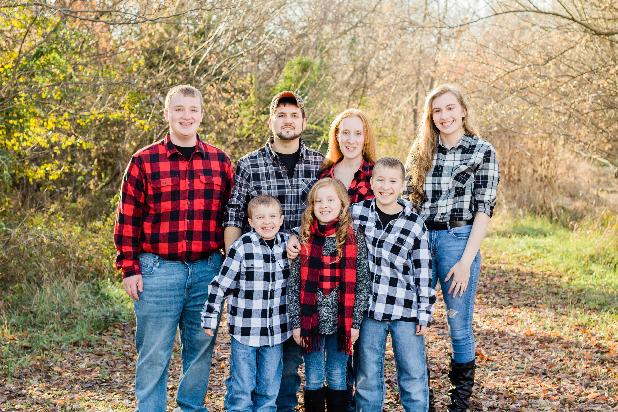 """mcguire family - """"There are so many wonderful things for me to say about Courtney but her work speaks for itself! It started with Spencer's senior pictures and we decided to do family pictures and wrapped up with Robyn's Sweet 16. But it won't end there we plan on making those family pictures with C.C. Preston Photography an annual tradition."""""""