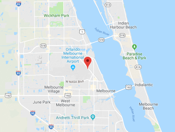 Google Map to Apex Executive Jet Center