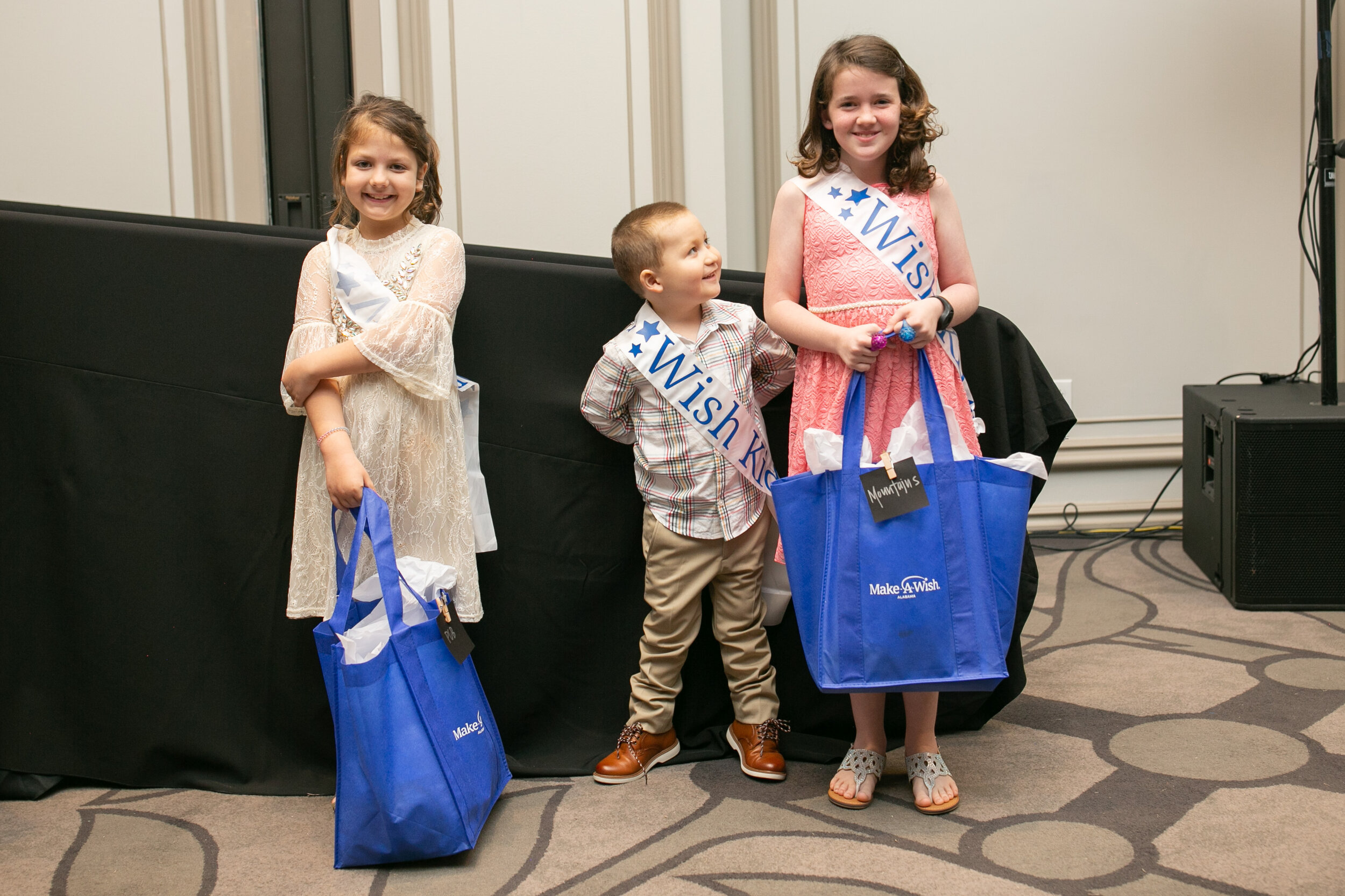 "Wish Ambassadors - At Wish Night, you will get the chance to meet several wish kids and hear their unforgettable stories. You will learn how each wish continues to provide hope, strength and joy to them in unique and unexpected ways! Keep your eyes peeled for the ""Wish Kid"" sashes."