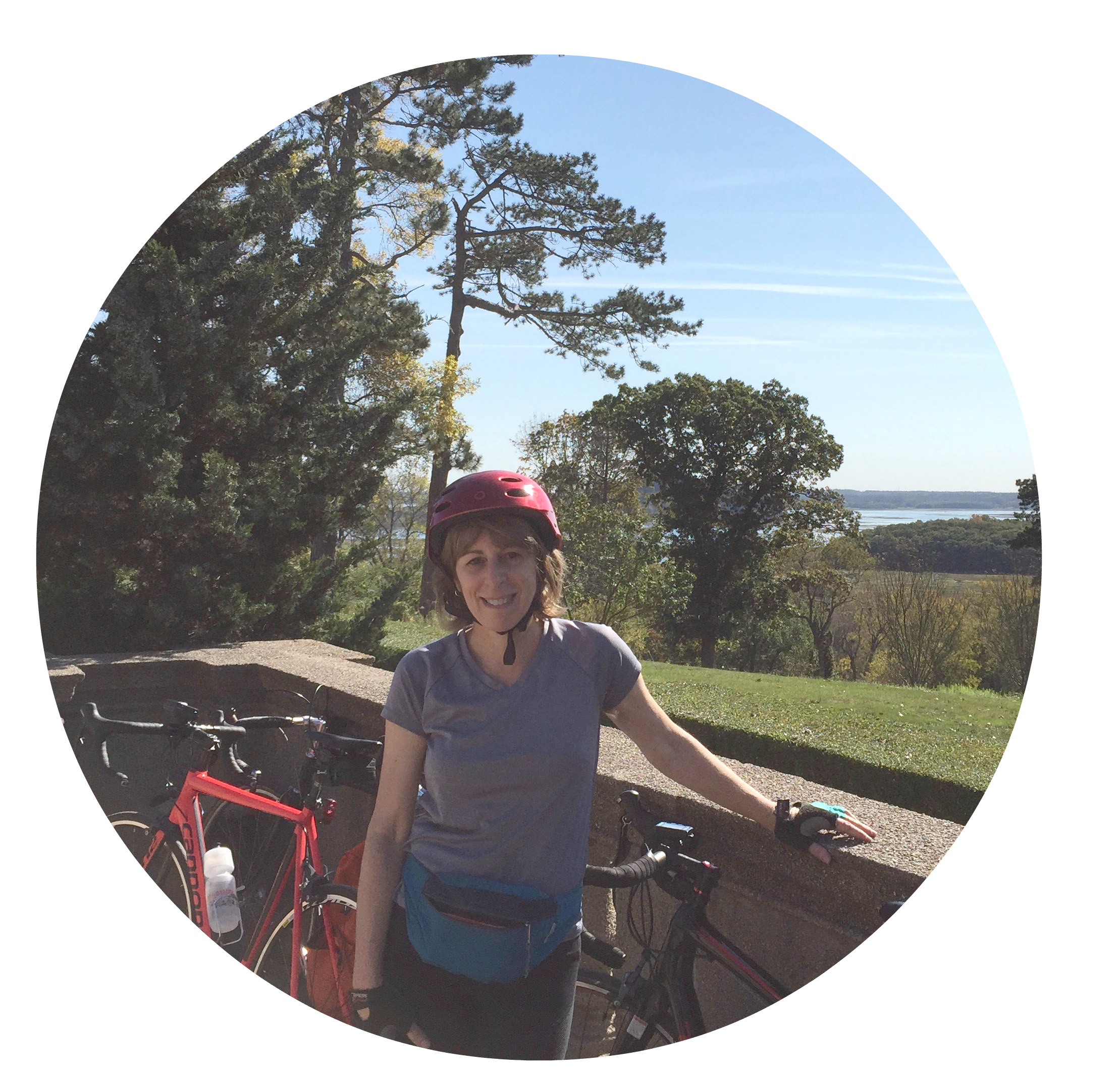 Deb with bikes.png