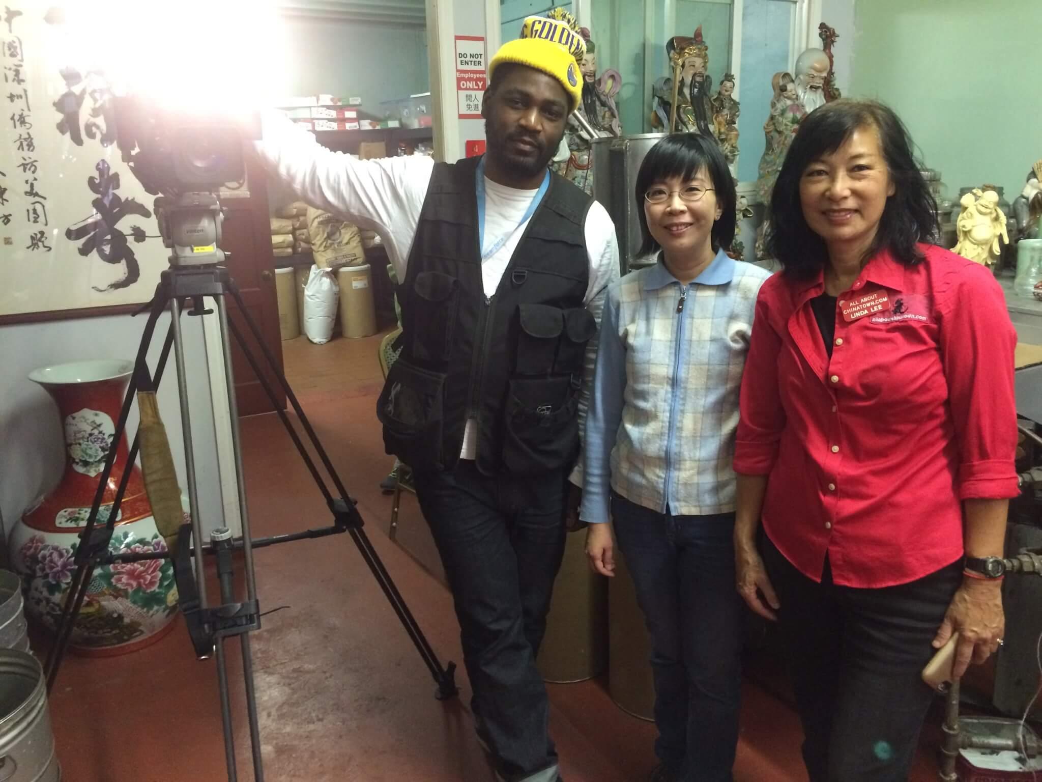 Angelina Wong (KTSF Anchor) Visit