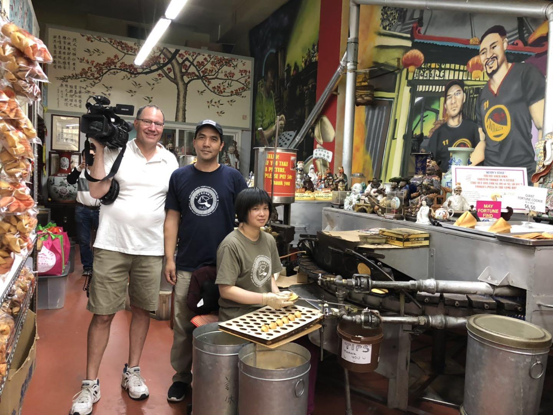 Chinese Radio International  Filming