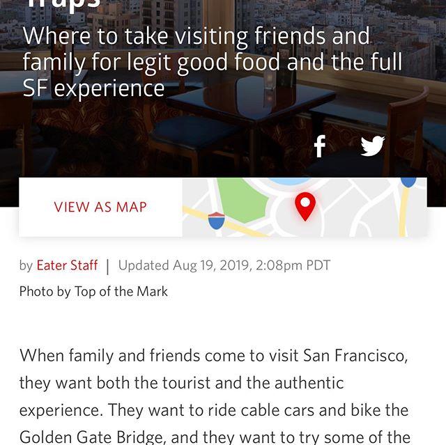 We are #6 in the San Francisco Best Tourist Traps[呲牙]我们在旧金山诱惑旅游之中排名第六[呲牙]#goldengatefortunecookiefactory #fortunecookie #sanfrancisco #traveling #sanfranciscotravel https://sf.eater.com/maps/best-tourist-restaurants-bars-san-francisco
