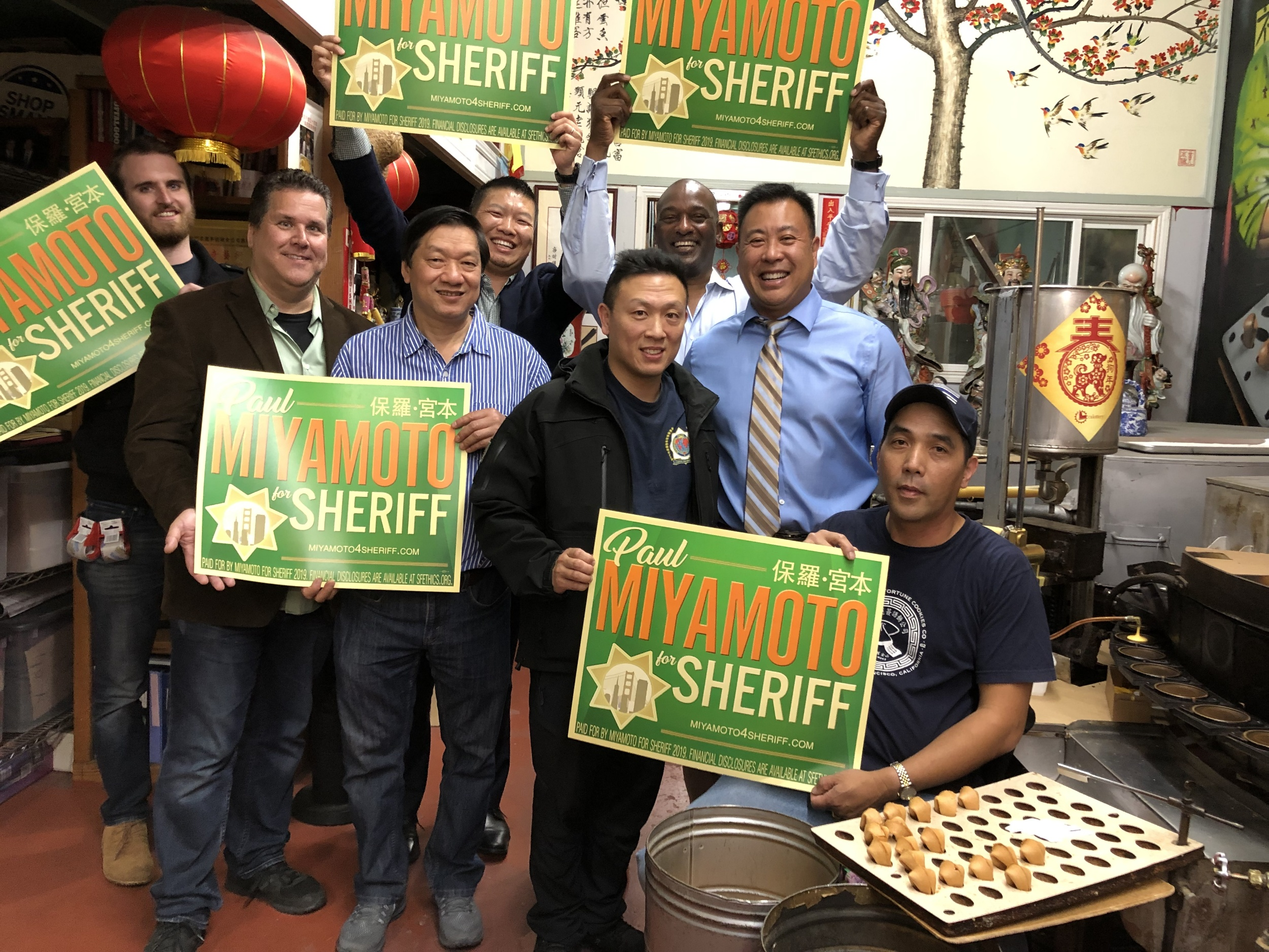 San Francisco Sheriff Paul Miyamoto