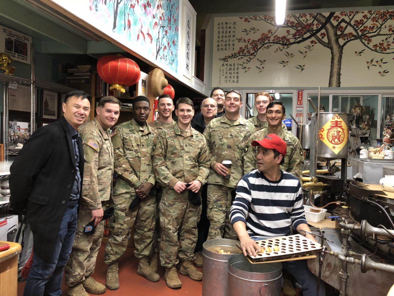 Millbra Mayor Wayne  Lee and The 101 Airborne Team