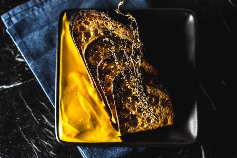 Bread + Cardamom Butter