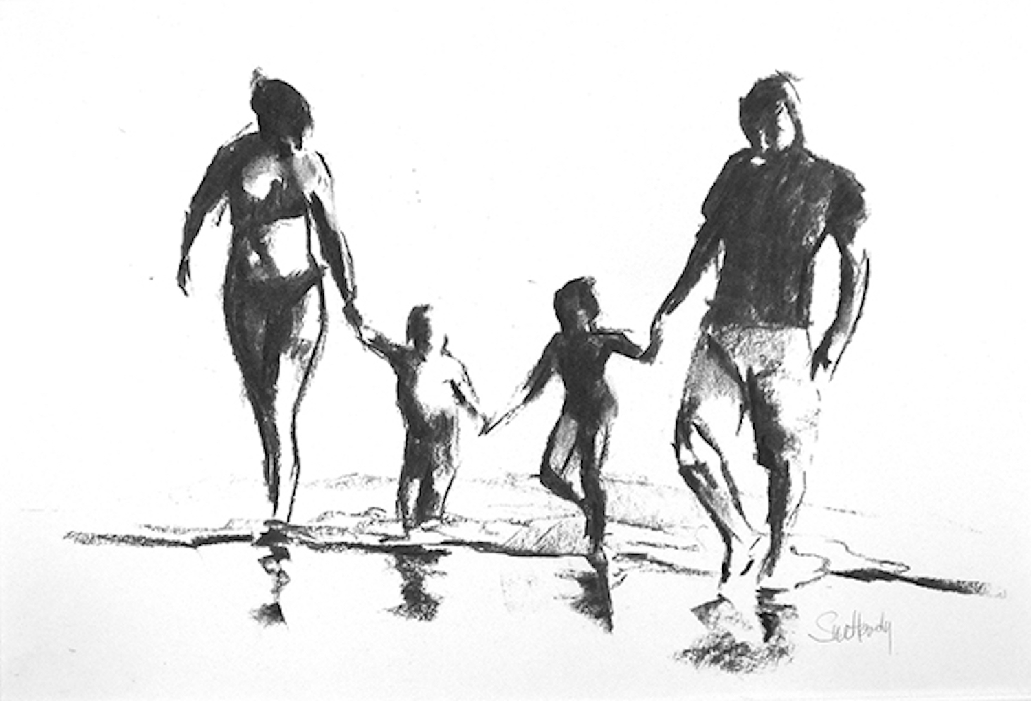 FAMILY IN THE SHALLOWS