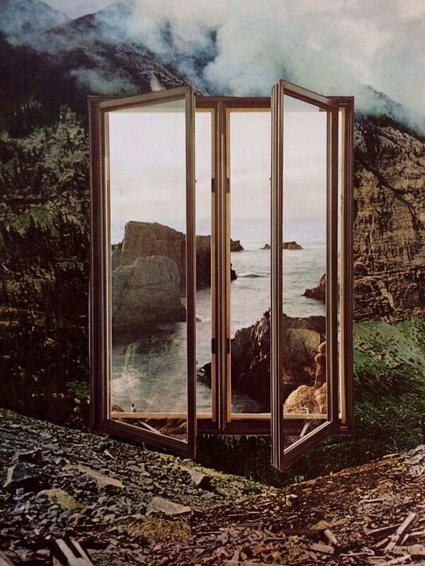 This piece was used as the cover of the album Interiors by the band Quicksand.