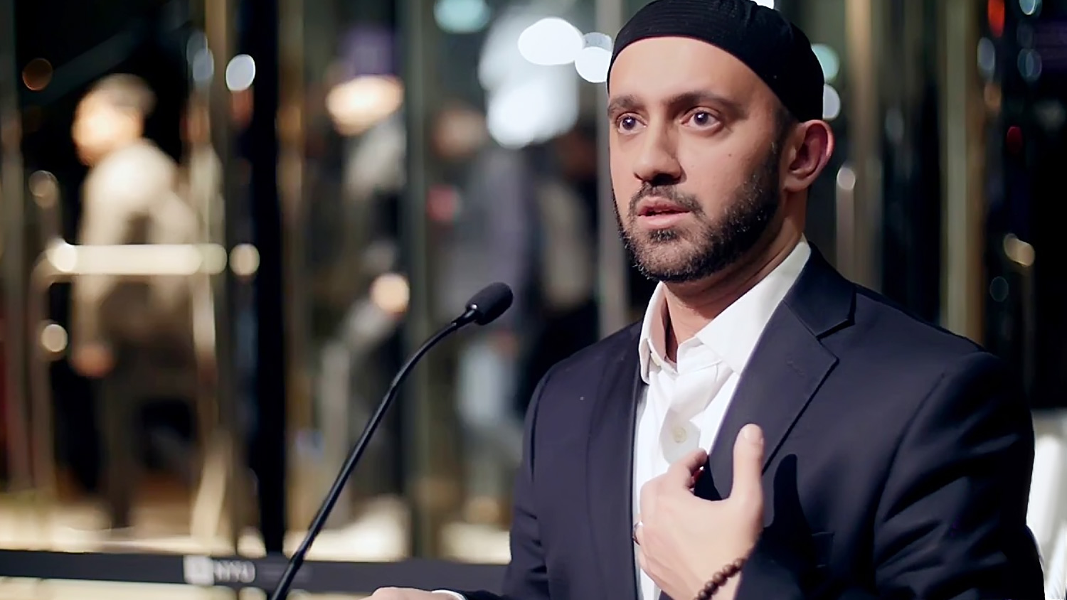 Imam Khalid Latif - Executive Director of the NYU Islamic Center