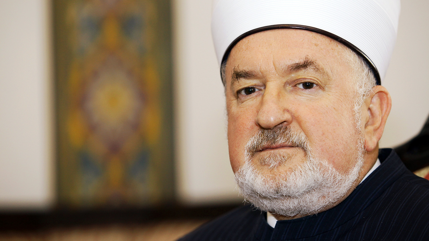 Grand Mufti Mustafa Ceric - President of World Bosniak Congress