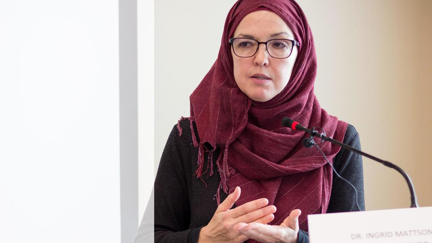 Ingrid Mattson - Professor, London and Windsor Community Chair in Islamic Studies at Huron University