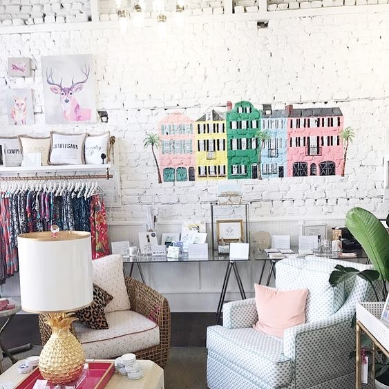 Thinking of my family and friends in Charleston right now. Hoping Florence stays away from my favorite city (and second home)! #goawayflorence #charleston #prayforcharleston •  repost from @glitterandgingham of @skinnydipcharleston- the cutest store!