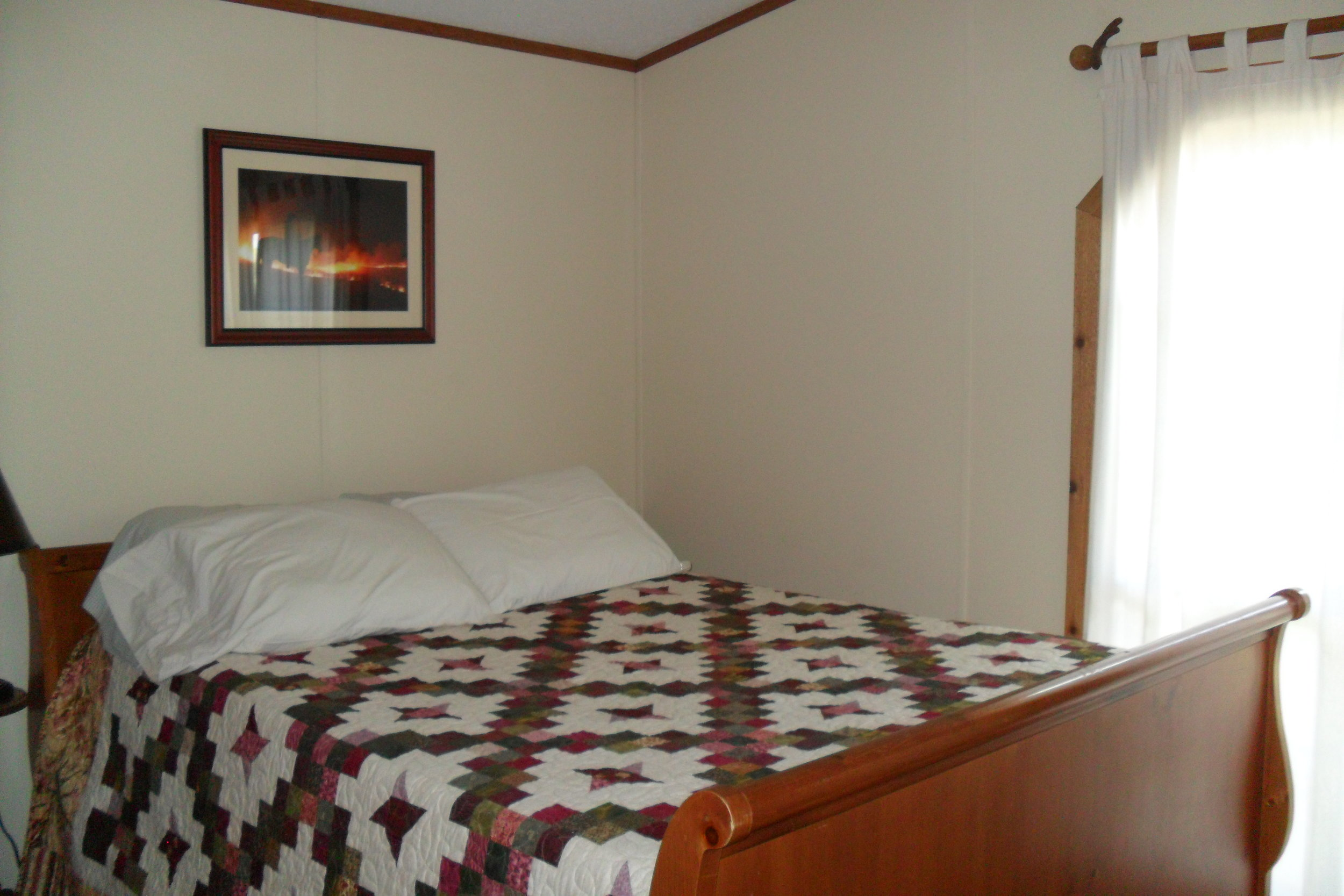 The Cabin: Prairie master bedroom