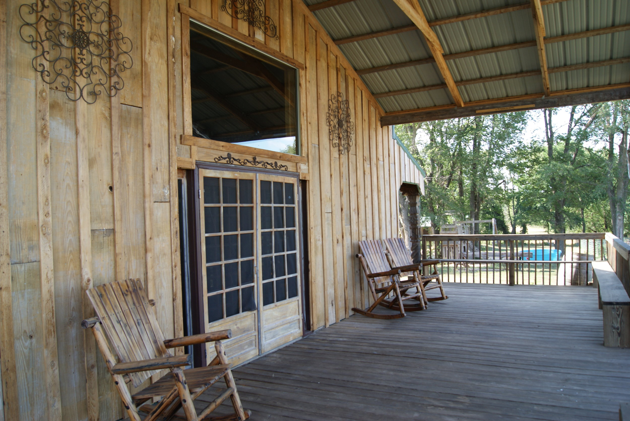 The Lodge East porch