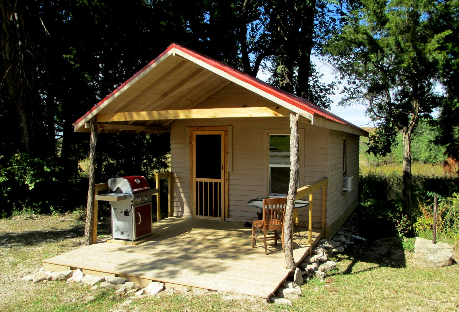 The Fire House at the Flying W Ranch