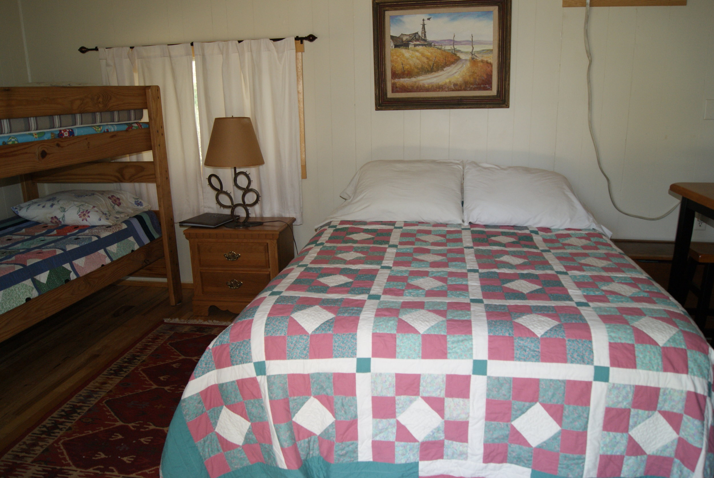 The Bunkhouse: Osage beds