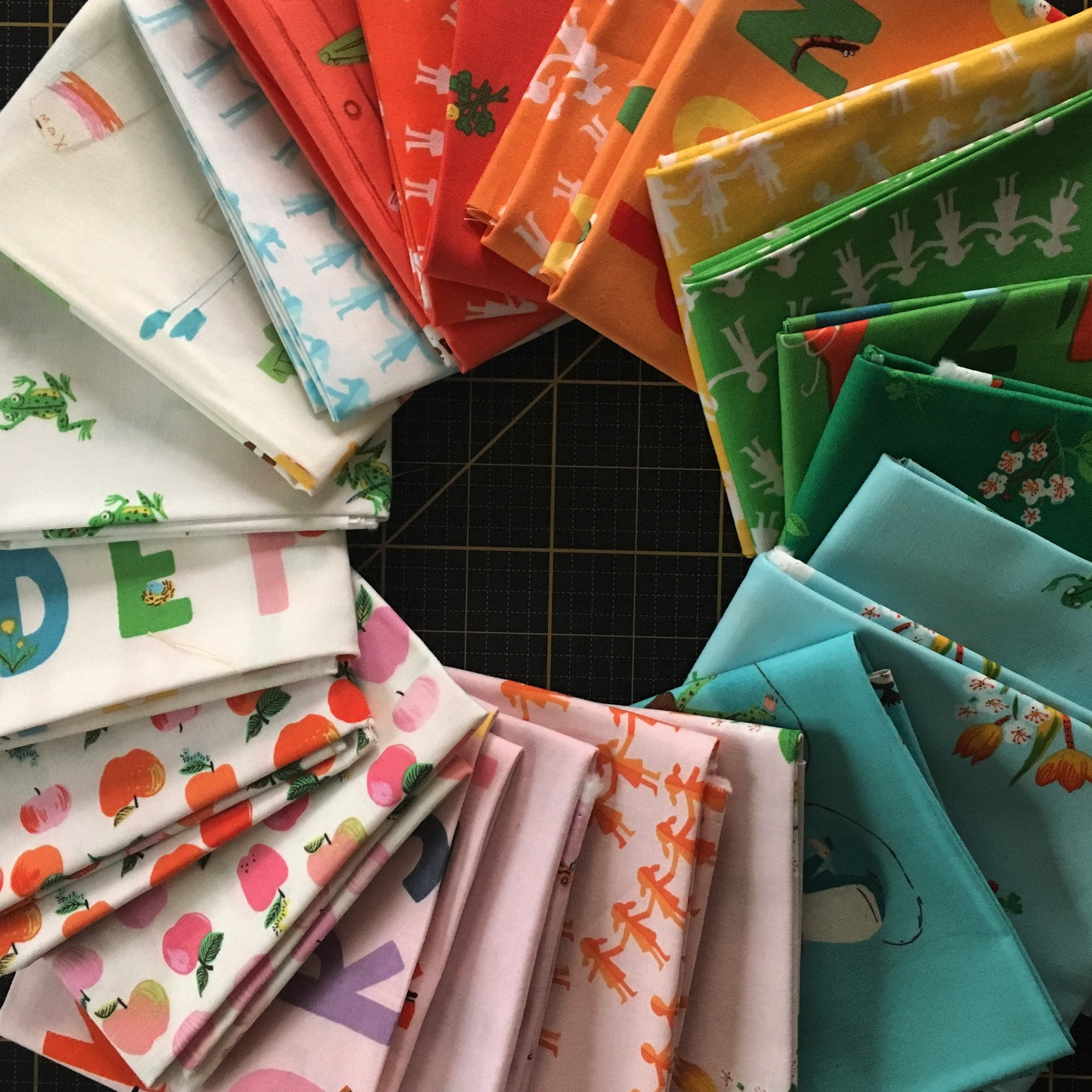 Kinder Fabric by Heather Ross for Windham Fabrics