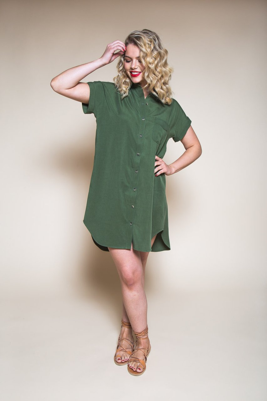 Closet Case Patterns - Kalle Shirt Dress