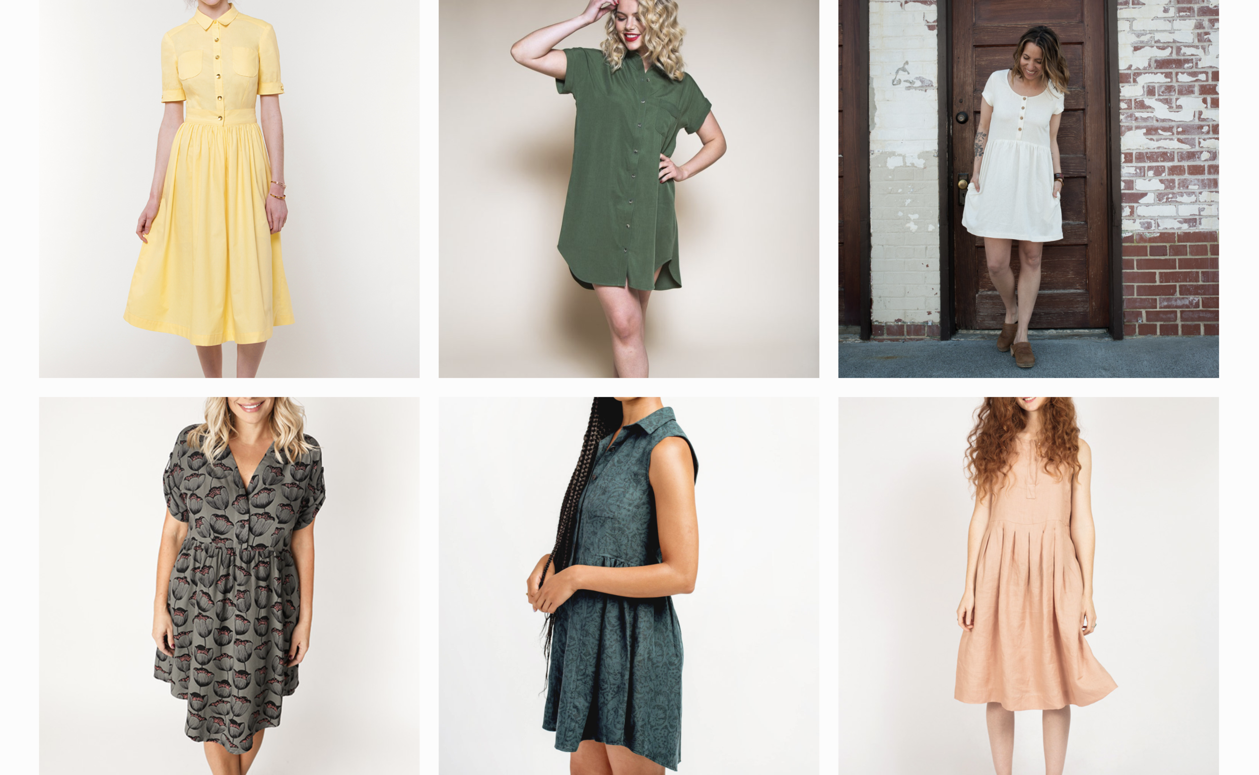 2019 Summer Dress Sewing Pattern Round Up - by ktschy